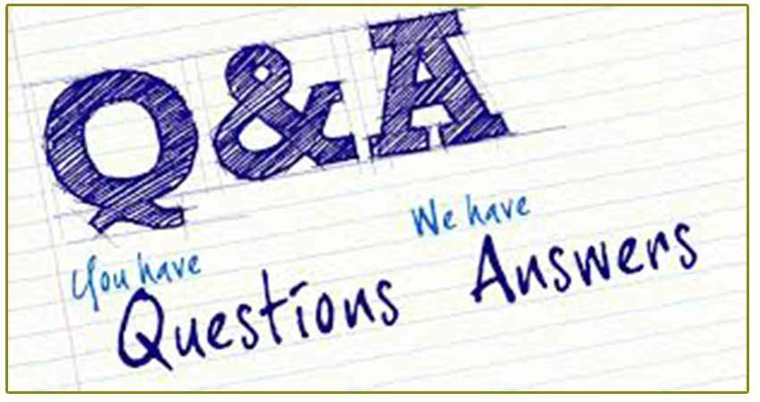 Questions and answers about veins cvr