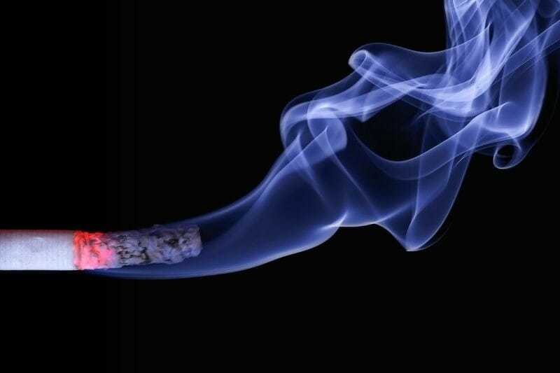 Smoking impact on veins
