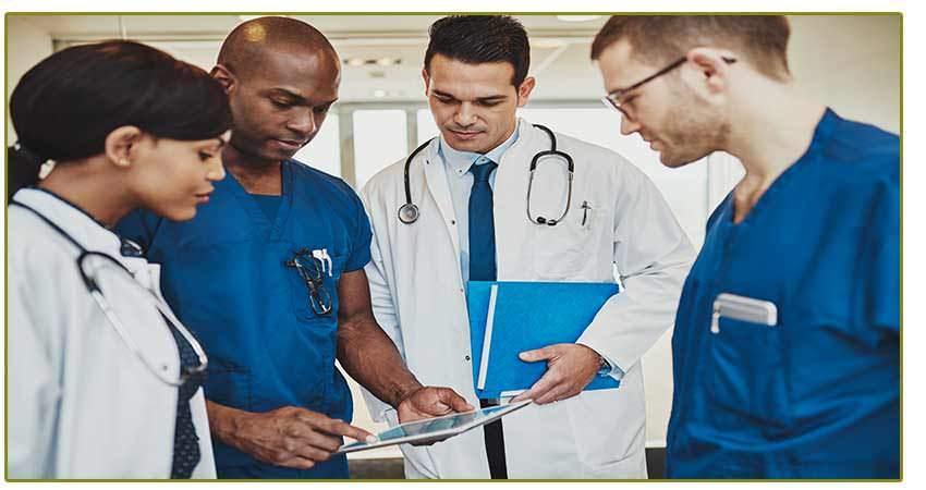 Vein center team of doctors